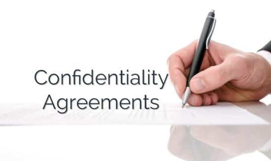 Confidentiality Agreement Attorney Alexandria VA