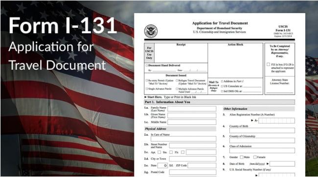 Form I-131 Attorney Alexandria VA